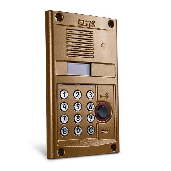 """Блок вызова ELTIS DP400-RD24 (1036), """"золото"""""""