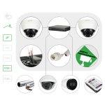 Комплект видеонаблюдения IP4 Мп для помещения