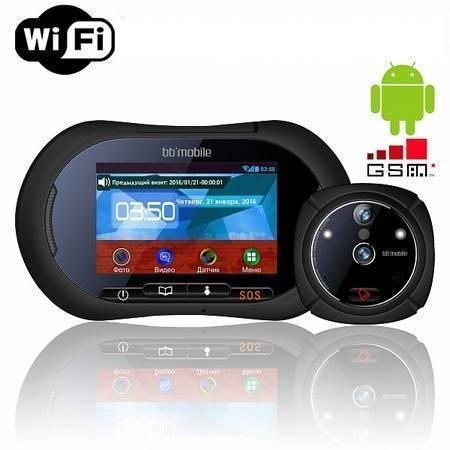 Дверной видеоглазок bb-mobile WiFi ГлазОК  на Android