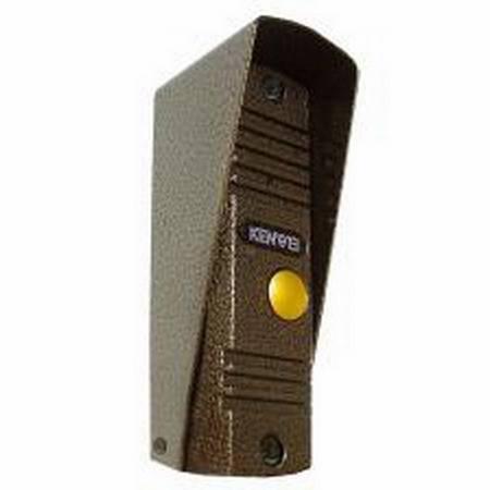 Блок вызова видеодомофона KENWEI KW-139MCS PAL без козырька (медь)