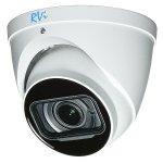 MHD-видеокамера купольная RVi-1ACE202M (2.7-12) white