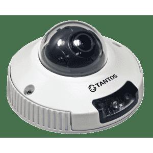 IP-видеокамера антивандальная TANTOS TSi-DVm221F (3.6)