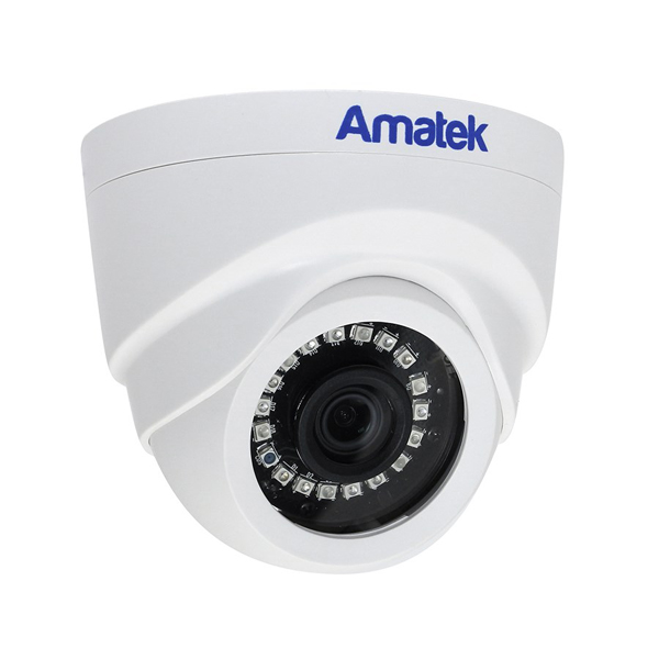 MHD-видеокамера купольная AMATEK AC-HD202S(2,8)