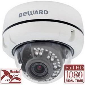IP видеокамера купольная BEWARD B2720DV