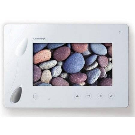 Монитор видеодомофона Commax CDV-70P/VIZIT белый