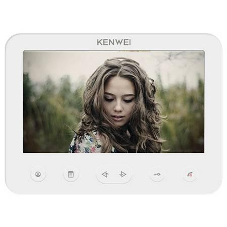 Монитор видеодомофона KW-E706FC-W100 белый