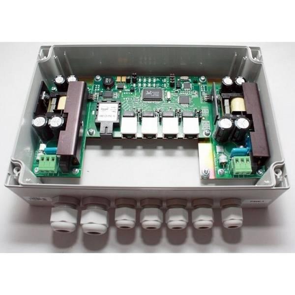 Коммутатор уличный неуправляемый TFortis PSW-1 (оптика)