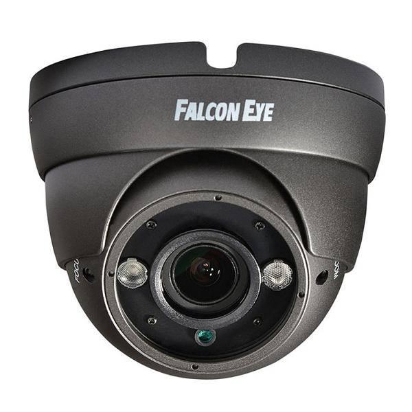 AHD видеокамера антивандальная FALCON EYE FE-IDV1080AHD/35M (серая)