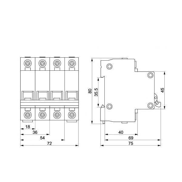 Автоматический выключатель 1Р 6А ИЭК (IEK)