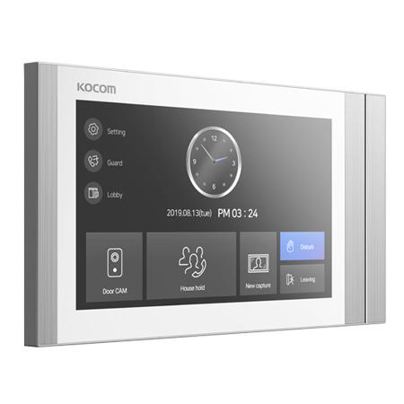 AHD-видеодомофон KOCOM KCV-T701SM белый
