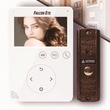 Новый комплект видеодомофона FALCON EYE FE-PLUS