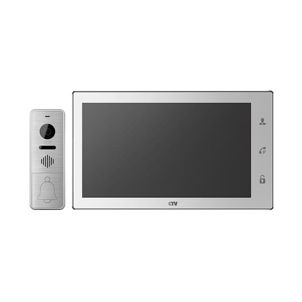 Комплект видеодомофона CTV-DP4102 FHD белый