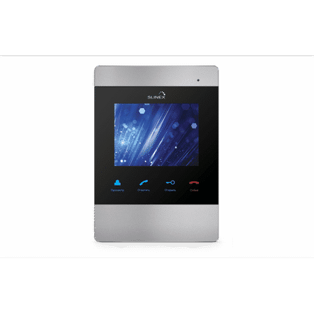 Видеодомофон SLINEX SM-04M Silver