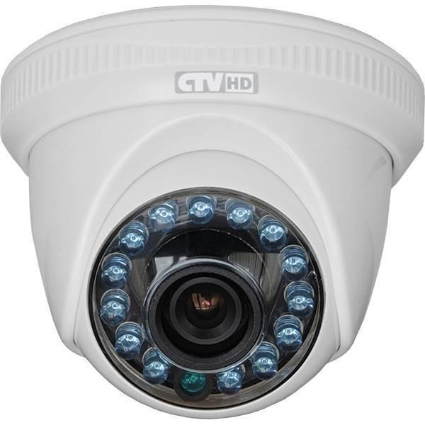 AHD видеокамера купольная CTV-HDD3620A FP