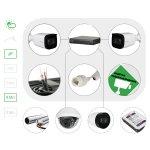 Комплект видеонаблюдения IP4 Мп для улицы