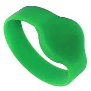 RFID браслет IL-10D74EG зеленый (d = 74 мм)