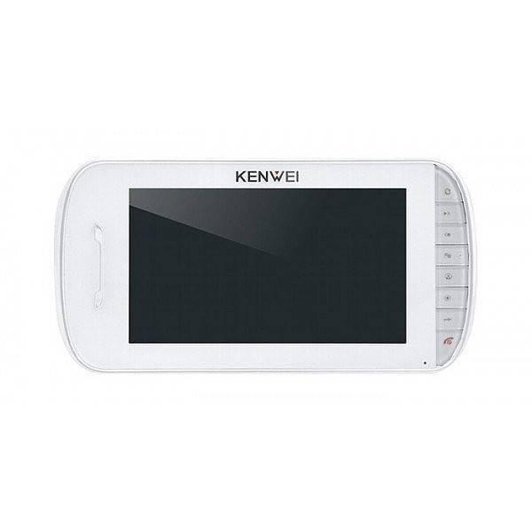 Монитор видеодомофона KENWEI KW-E703C белый Vizit