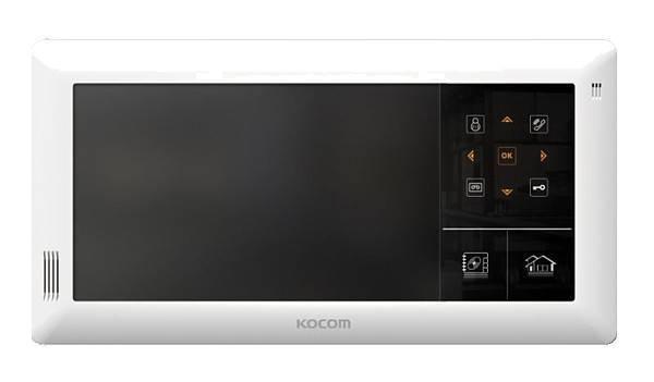 Монитор видеодомофона KOCOM KVR-A510 белый