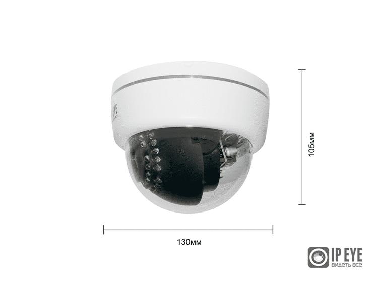 IP-видеокамера купольная IPEYE-D2E-SUPR-2.8-12-01