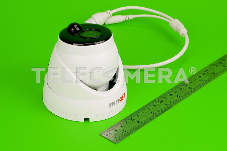 IP-видеокамера антивандальная REDLINE RL-IP22P-S.pir