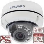 IP видеокамера купольная BEWARD B2720DVZ
