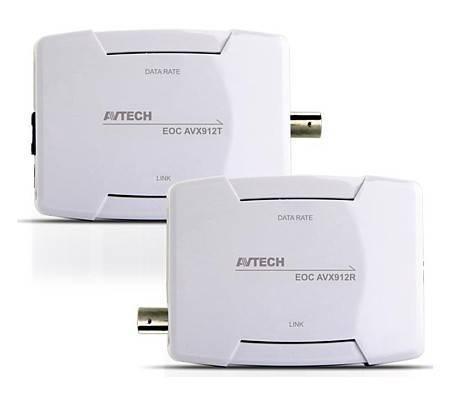 Конвертер AVTech Ethernet over Coaxial (EoC) AVX912R/T