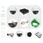 Комплект видеонаблюдения IP 4 Мп для помещения