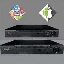 Гибридные видеорегистраторы GIRAFFE с записью до 5 Мп