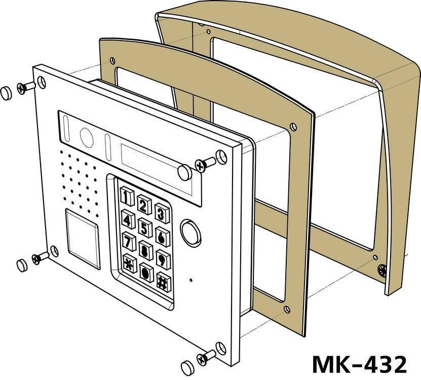 Комплект монтажный VIZIT МК-432