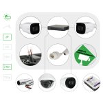 Комплект видеонаблюдения IP2 Мп для улицы