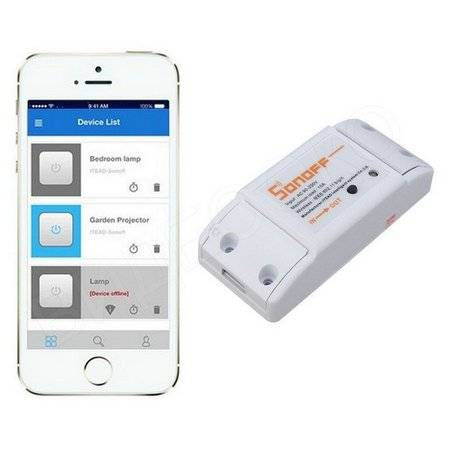 WiFi реле Sonoff S10A