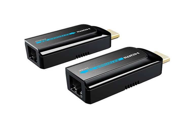 Передача HDMI по витой паре LENKENG LKV372S