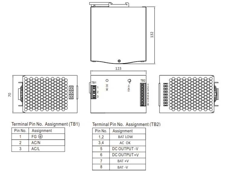 Блок бесперебойного питания FARADAY UPS 300W/48V/DIN