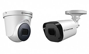 Поступление уличных видеокамер TANTOS 4 в 1