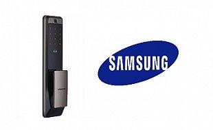 Новые замки SAMSUNG со сканером отпечатка пальцев